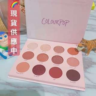 🚚 ‼️現貨24小時出|Colourpop 眼影盤 Give it to me straight 眼影 12色眼影