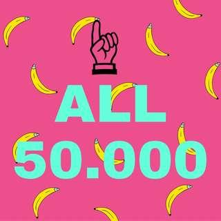 ALL 50.000