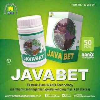 JAVA BET Original Produk NASA obat untuk diabetes
