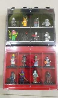 Lego 71010 Minifigure Series 14 Monsters FOC display case