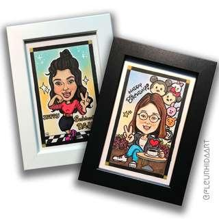 ☆ Mini Cartoon Portrait ☆