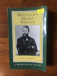 🚚 Herman Melville's Short Novels (Norton Critical Editions, 2002)