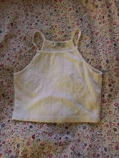 Pull and Bear Halter crop top