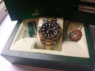 Rolex 116713ln GMT II M頭卡