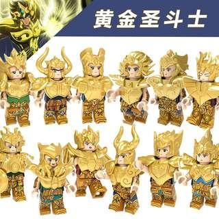 PANGSHOP - 黃金聖鬥士 星矢十二宫 人仔