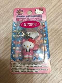 🚚 日本Hello Kitty 鑰匙扣(金沢限定)