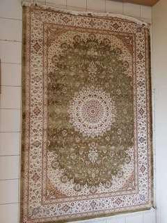 Karpet Sutera Hand Made (Bamboo Silk)
