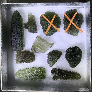 Moldavite from Czech Republic - Meteorite