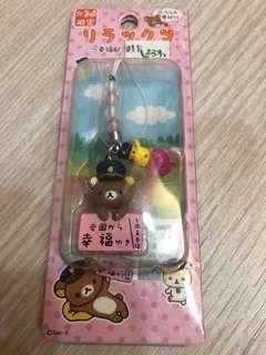 🚚 拉拉熊北海道(幸福站)限定手機吊飾