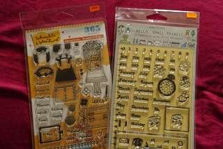 Sakuralala Clear Stamp - Planner Girl & Hello, Small Things