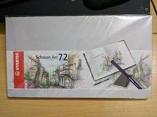 Stabilo Schwan Art 72: Premium Colour Pencils