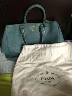 Parda two way bag(sky blue)
