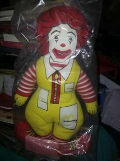麥當勞公仔。出口美國1987年版。绝版