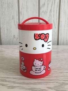 Lunchbox tower case tumpuk makan anak Hello Kitty
