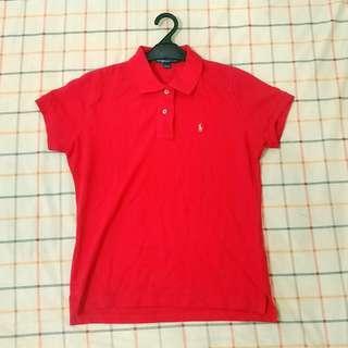 Red Polo Ralph Lauren Shirt