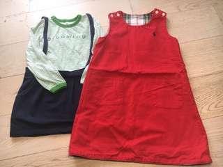 女童連身裙 110-120cm