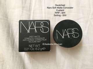 NARS Soft Matte Concealer - Custard (Swatched)