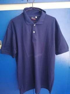(Tear Resistant and Negotiable!) Indigo Level One Polo Shirt