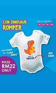 Dino Romper
