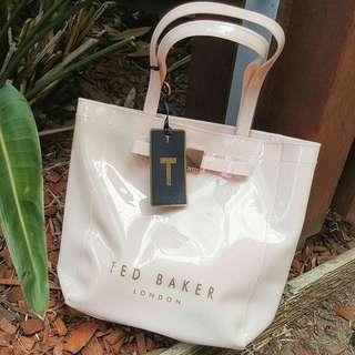 AUTHENTIC TED BAKER SMALL LIGHT PINK TOTE