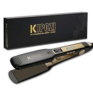 KIPOZI Professional Titanium Flat Iron Hair Straightener (YA125)