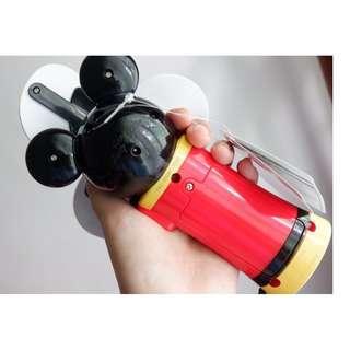 Portable Fan with LED light Tokyo Disney Resort