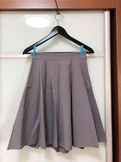 🚚 Grey Skater Skirt