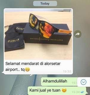 Service Turbo [Umar Sunglasses] Polarized Spek Mata