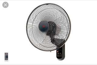 "KDK KC4GR 16"" electric wall fan with remote"