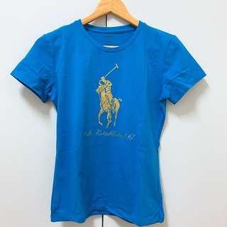 【全新】POLO logo T恤 M號 女生