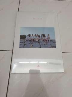 Twice one in a million photobook sealed