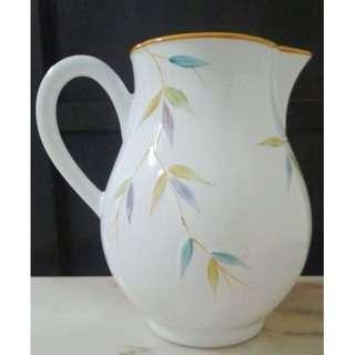 Extremely Rare TIFFANY & CO. Porcelain Pitcher 1L (Bamboo) Made in France