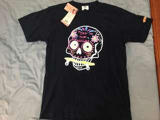 Vans x Tower Records skull t-shirtM BNWT