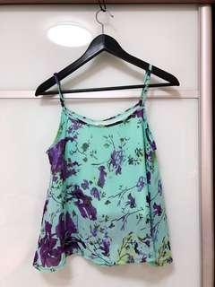 TSW Blue floral top
