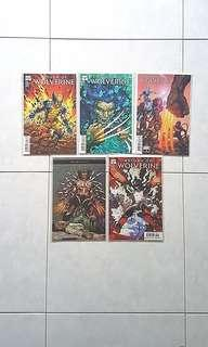 Marvel Comics Return of Wolverine Complete 5 Issue Mini-Series Near Mint Condition