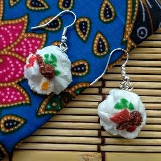 🚚 Handmade Nasi Lemak Clay Earrings