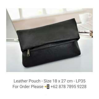 Leather Pouch - Clutch - LP35