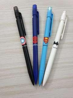Superhero mechanical pencils 0.7