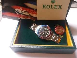 勞力士Rolex 1675 GMT mark1有出世紙matte dial 红藍圈