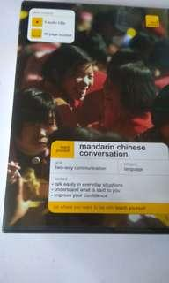 Mandarin Chinese Conversation booklet and CDs