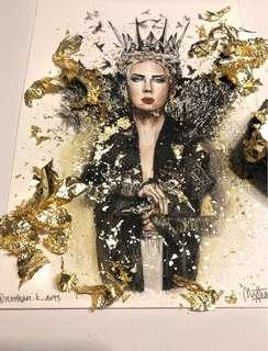 Evil Queen Ravenna Print for sale!!🔮