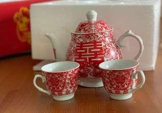 Chinese tea pot set 敬茶套裝 (discounted)