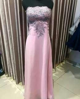 Pink gown / pink party dress