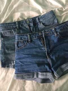 🚚 Denim shorts