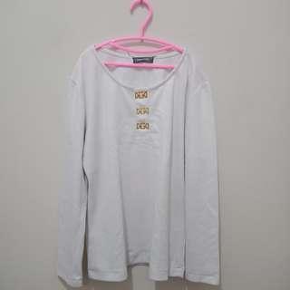 Kaos Putih Tebel