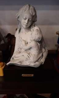 Mother and Child - Barbetta numbered and signed