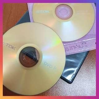 Blank DVD-R (6 pieces)