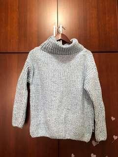 🚚 冬日藍色毛衣