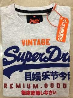 🚚 Superdry Ice Marl Tee / T-shirt Top