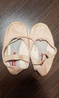 真皮芭蕾舞鞋 ,底長16cm